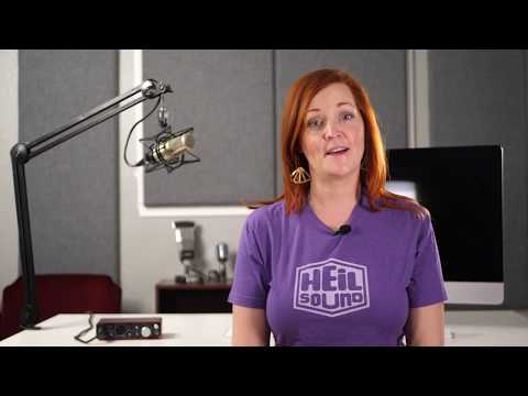 How to setup your PL 2T Boom Arm from Heil Sound