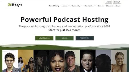 Libsyn podcast host